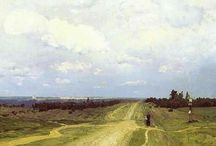 Isaak Levitan / Brilliant Russian landscape painter (1860 - 1900)