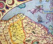 Antique maps, Abraham Ortelius 1570 / Antique Maps of Middle East, Wold Maps, The Netherlands, Europe, America, Africa, Asia, India, China, Indonesia, Fine Art, Cartography. Abraham Ortelius etc...