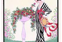 Vogue Magazine Illustrations By Helen Dryden (1882–1972) Art Deco, Fashion, Mode, Moda, Couture