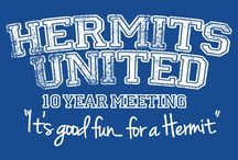 Hermits United! / Every Whovian's dream board. ;) Add everyone! Make this board as big as possible, for a hermit can never have too many hermit friends. ~Kharis