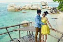 Album Foto Prewedding Belitung