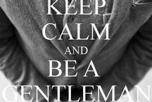 For the gentleman / by Diana Cruz