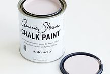 Antoinette Chalk Paint® / Annie Sloan colour inspired by Old fashioned roses and the colour of old plaster. This is a soft pale pink with a hint of brown in it so the pink is not too sweet. Purchase online @ www.artworksnw.com or find a retailer near you at www.unfolded.com