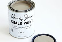 Coco Chalk Paint® / A warm mid-value taupe, this neutral works in nearly all colour schemes.  Purchase online at www.artworksnw.com or find a retailer near you at www.unfolded.com.