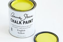 English Yellow Chalk Paint® / A clean yellow, particularly popular in English 18th century decoration. Inspired by hand painted Chinese wallpaper & the development if Chrome Yellow pigment. Purchase online @ www.artworksnw.com or find a retailer near you @ www.unfolded.com