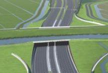 bouw aquaduct (grootste v. Europa)