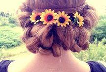 Fryzury- inspiracje / Inspirujące zdjęcia, piękne fryzury dla długich włosów i nie tylko!