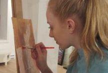 Art Camps / Here are a variety of activities that we do, our summer schedule and info on our camps
