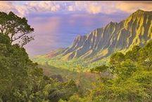 Hawai valley and coast