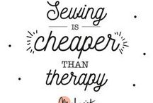 Sewing Quotes & Inspiration / Sewing Quotes, Inspiration & Humour!