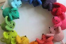 Geboortekrans / Kransen die als versiering in de babykamer, woonkamer of op de voordeur gehangen kunnen worden
