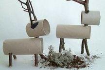 Zelfmaaktips Kerst -DIY Christmas / Kerstsfeer zelf maken, crafts Christmas, DIY Christmas, kerstdecoratie, knutselen kerst