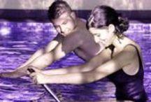 L'Aquabiking / Une autre façon de pratiquer l'aquagym tout en pédalant !  / by Abysse Sport