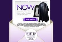 Salon & Spa Uniforms / Capes by Sheena is a leading manufacturer of salon and spa apparel in USA. We offer huge discount on customized salon aprons and capes bulk order. Request a free quote now!