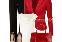 Office outfit / Working girl clothes, casual, tidy, NOT boring though