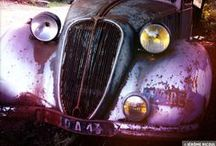 Abandoned vehicles / Abandonned véhicules, cars, trucks, Motorcycles,bikes