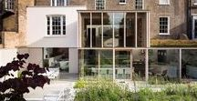 East London House - Mikhail Riches / Contemporary Extension and Refurbishment to Grade II Listed family home in East London by Mikhail Riches. RIBA Award 2014 (shortlisted), New London Architecture Award 2014, Wood Award 2012 Winner