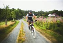 Bike along ... / Cycling the North Sea Road is a fantastic way of exploring the southern part of western Norway