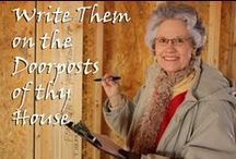 Write Them on the Doorposts of Thy House