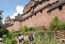 Château du Haut-Koenigsbourg / Sur un éperon rocheux à près de 800 mètres d'altitude, découvrez le Château du Haut-Koenigsbourg, imposante forteresse édifiée au XIIème siècle.  © crédits photos : C. Fleith - J.L Stadler - K. Stiber - Haut-Koenigsbourg
