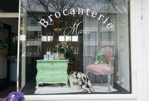 brocanterie maria / Brocanterie in Den Haag gespecialiseerd in Chalkpaint van Annie Sloan