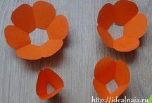 Tutorial fiori carta