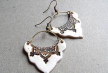 Jewellery: Polymer Clay Earrings