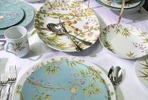 For the Table / Beautiful table settings, tablescapes, table decorations, dinnerware, flatware, dishes, tea sets etc.