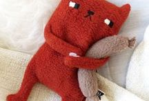Plush friends / Lovely plush toys, stuffed animals