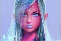 Portraits & character designs