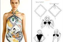 Ways to wear an Hermes scarf