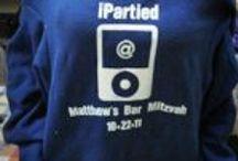 Iphone or App Theme Bar and Bat Mitzvah Ideas