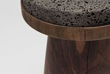 Trend: Material Combinations / Contrasting combinations of real and synthetic materials.