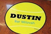 Tennis Theme Bar and Bat Mitzvah Ideas
