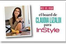 Must del hogar por Claudia Lizaldi / Lo que no puede ni debe faltar en el hogar de la actriz.