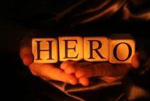 Heroes of Our World / Dedicated to Those Who Serve & Protect As Well As Those Who Sacrifice Loved Ones For The Safety Of Others