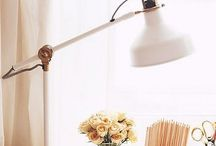 *Hem: Vintage desk lamp for library