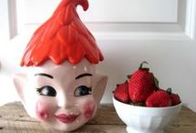 Cookie jars! / Pinning interesting cookie jars - some are cute, some just brilliant while some to accentuate the décor and some just hilarious.