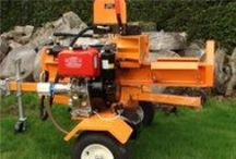 The Rhino - 30 Ton Log Splitter / The most powerful log splitter offered by Titan Pro - the 30 ton Rhino!