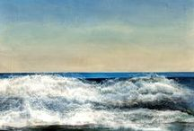 Waterscapes / Waterscape Paintings by Nancy Reyner