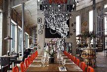 Restaurant & bar design / Restaurant, bar and cafe design