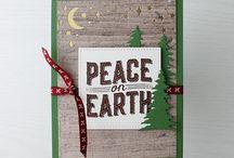 Cards - Christmas / Christmas Card inspiration for handmade cards.