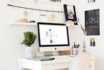 WORK space / miejsce do pracy, DIY inspiracje