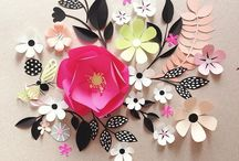 Made with Paper / Fun projects made with paper, folding, cutting and glue.