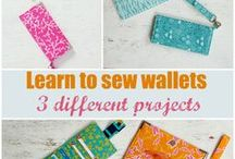 Sewing Wallets / Board for pins and projects promoting my Sewing Wallets: Step by Step sewing class on Craftsy. The class includes 3 free wallet sewing patterns and lots of tips to help you get a great result and even customise your own perfect wallet pattern. 50% off the price at http://crafting-news.com/wallets-h (add to cart to see discount)