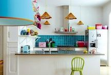 Colorful Kitchen-spirations