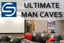 Man Caves for the Sports Enthusiast / Showcase your finest sports memorabilia with the ultimate man cave. Signed baseballs, autographed helmets, maybe even an authentic locker from your favorite stadium. Steiner Sports has the ultimate collection of licensed, authentic sports collectibles to turn the average room into the Ultimate Man Cave. / by Steiner Sports