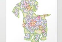 My Floral Art Prints