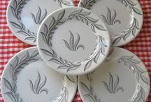 Restaurant Ware / Vintage restaurant ware dishes come in a variety of patterns and simple styles!