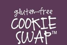"""2014 Gluten Free Cookie Swap / Do you love holiday cookies, and love trying new gluten-free recipes? Grab a recipe, give a recipe, vote on your favorites -- the cookie recipes with the most """"repins"""" on Pinterest & """"ikes"""" on Facebook, win HUGE prizes!* This year's prize pot is worth over $2,000 plus loads of daily prizes!  Details at http://on.fb.me/12tjvXv Contest ends 12.31.14"""
